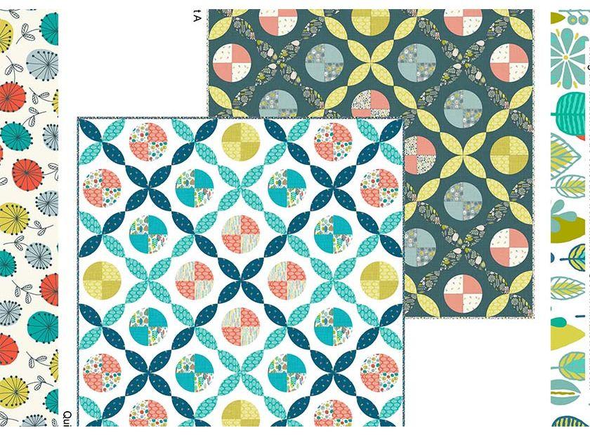 Modern Retro Free Quilt Pattern