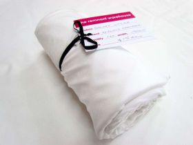 Great value 1m Precut Shiny Lycra Mini Roll- White available to order online New Zealand