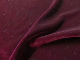 Great value 2way Stretch Velvet- Burgundy available to order online New Zealand