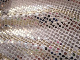 Great value 6mm American Sequins- Light Gold available to order online New Zealand