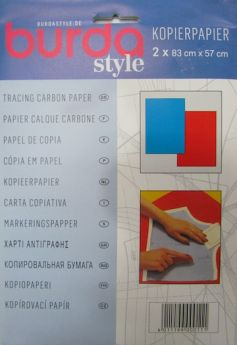 Great value Burda Style Carbon Tracing Paper- Red/Blue available to order online New Zealand