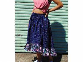 Great value Boho Skirt Downloadable Pattern- Sizes 6-20 available to order online New Zealand