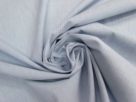 Great value Crosshatch Cotton Blend Shirting- Blue #4677 available to order online New Zealand