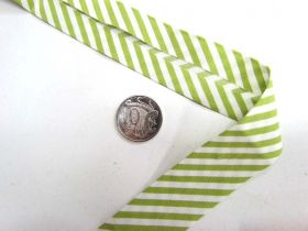 Great value A Day In The Country Bias- Medium Stripe- Lime available to order online New Zealand