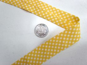 Great value A Day In The Country Bias- Medium Check- Yellow available to order online New Zealand