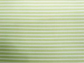 Great value Fresh Stripes Cotton- Pale Lime #PW1143 available to order online New Zealand