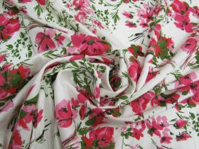Great value Garden Romance Linen Cotton #4757 available to order online New Zealand