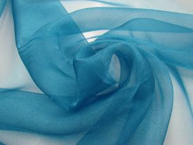 Great value Crystal Organza- Peacock Blue available to order online New Zealand