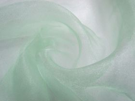 Great value Crystal Organza- Cool Mint available to order online New Zealand