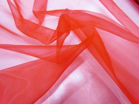 Great value Matte Organza- Red available to order online New Zealand