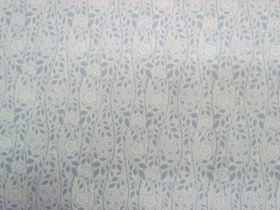 Great value Liberty Cotton- Merton Rose- 5902C- The Emporium Collection - Grey available to order online New Zealand