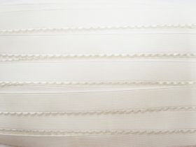 Great value 20mm Lingerie Elastic- Creamy White #221 available to order online New Zealand