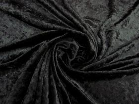 Great value Panne Velvet- Mysterious Black #4785 available to order online New Zealand