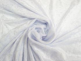 Great value Panne Velvet- Moonlight White #4786 available to order online New Zealand