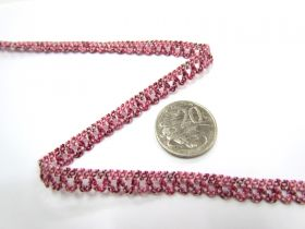 Great value Baby Ripple Stretch Trim- Raspberry available to order online New Zealand