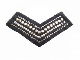 Great value Silver Studded Neckline Detail available to order online New Zealand