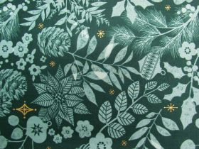 Great value Ruby Star Society Cotton- Candlelight- Winter Garden- Pine 34-15M available to order online New Zealand