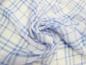Great value Pool Side Check Crinkle Chiffon #4811 available to order online New Zealand