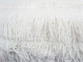 Great value 65mm Cotton Twisted Fringe- Marshmallow #475 available to order online New Zealand