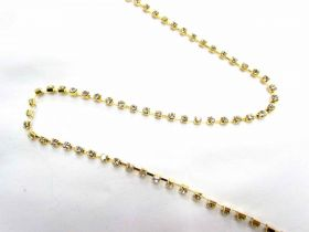 Great value 3mm Diamante Trim- Gold available to order online New Zealand