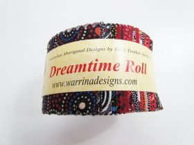 Great value Dreamtime Jelly Roll- Red Colour Theme available to order online New Zealand