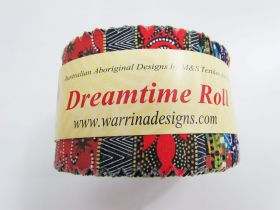 Great value Dreamtime Jelly Roll- Multi Colour Theme available to order online New Zealand