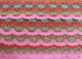 Great value 55mm Festival of Lights Cotton Lace Trim #227 available to order online New Zealand