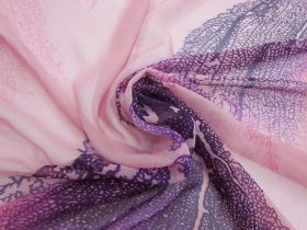 Great value Natural Elegance Silk Georgette- Pink #4881 available to order online New Zealand