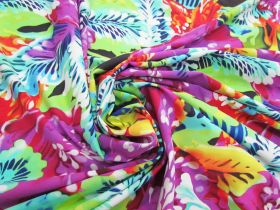 Great value Exotic Rainforest Lightweight Spandex #4889 available to order online New Zealand