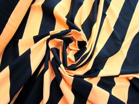 Great value Zesty Orange Stripe Spandex #4895 available to order online New Zealand