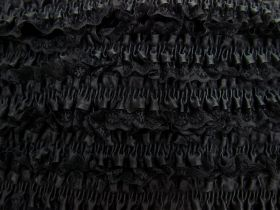 Great value 50mm Lace Garter Elastic Trim- Black #255 available to order online New Zealand