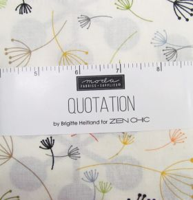 Great value Quotation Charm Pack available to order online New Zealand