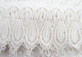 Great value 11cm Fleur Cotton Lace Edge Trim #280 available to order online New Zealand