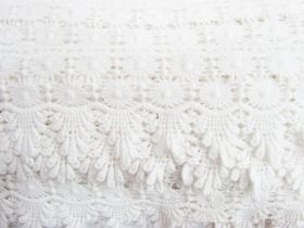 Great value 85mm Celia Cotton Lace Edge Trim #283 available to order online New Zealand
