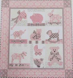 Great value Sweet Dreams Lily- Quilt Pattern available to order online New Zealand
