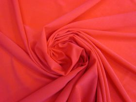 Great value Nylon Spandex Lining- Rich Red #4966 available to order online New Zealand