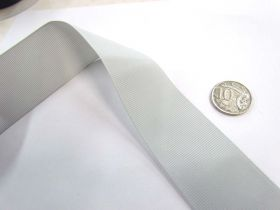 Great value Grosgrain Ribbon 38mm- Silver Grey available to order online New Zealand