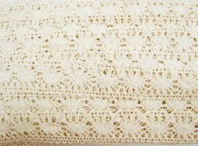 Great value 27mm Jessica Cotton Lace Trim #307 available to order online New Zealand