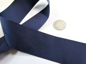 Great value Grosgrain Ribbon 38mm- Navy available to order online New Zealand