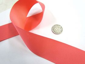 Great value Grosgrain Ribbon 38mm- Watermelon available to order online New Zealand