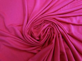 Great value Viscose Jersey- Cerise Rose #4976 available to order online New Zealand