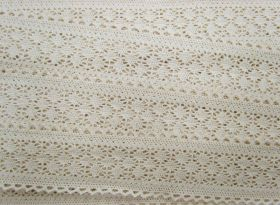 Great value 45mm Ellie Cotton Lace Trim #316 available to order online New Zealand