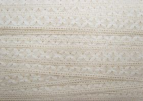 Great value 23mm Savannah Cotton Lace Trim #321 available to order online New Zealand
