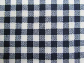 Great value 10mm Gingham Cotton- Navy #PW1211 available to order online New Zealand