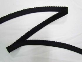 Great value 19mm Lingerie Elastic- Black available to order online New Zealand
