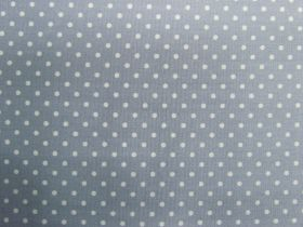 Great value 2mm Spot Cotton- Cold Grey #PW1223 available to order online New Zealand