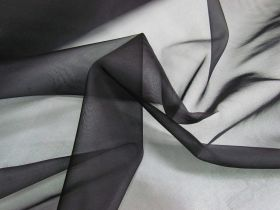 Great value Silk Organza- Black #4986 available to order online New Zealand