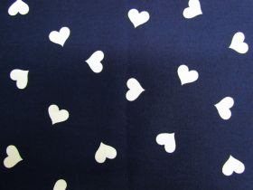 Great value Sweet Heart Cotton- Navy #PW1249 available to order online New Zealand