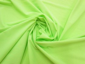 Great value Thin Stripe Lightweight Spandex- Sour Apple #3057 available to order online New Zealand