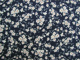 Great value Fields Of Daisies Cotton- Navy #PW1255 available to order online New Zealand